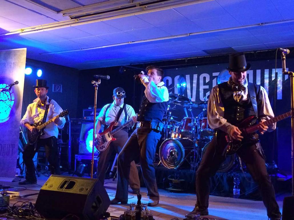 die Party-Rock Coverband Covernaut Landgang Brühl 2015