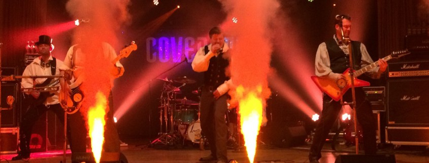 Covernaut: alle Kessel unter Dampf